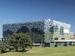 wellington airport facade